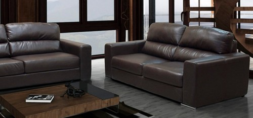 Naples 2 Seater Brown