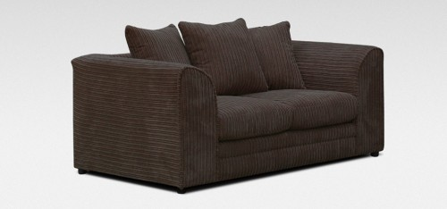Dylan 2 Seater Chocolate Jumbo Cord