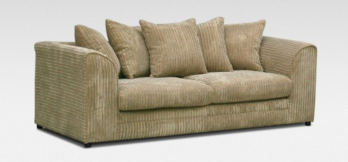 Dylan 3 Seater Coffee Jumbo Cord