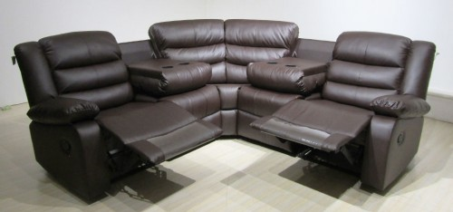 Roma Recliner Corner 2C2 Brown