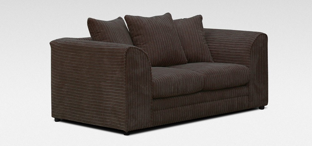 Dylan 3 + 2 Seater Chocolate Jumbo Cord