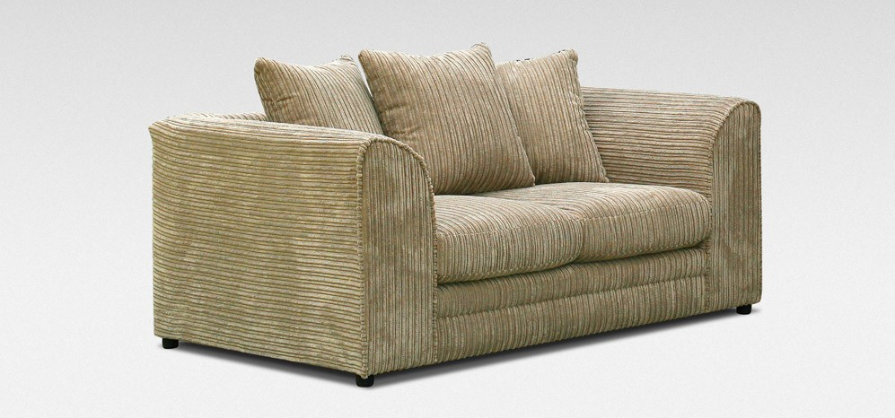 Dylan 2 Seater Coffee Jumbo Cord